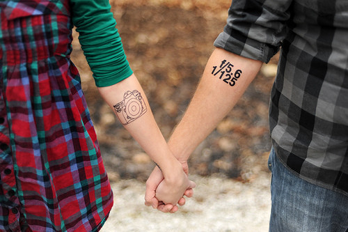 the sweetest tattoos baileyandmeister:  ashleysaidthat:  so this is love