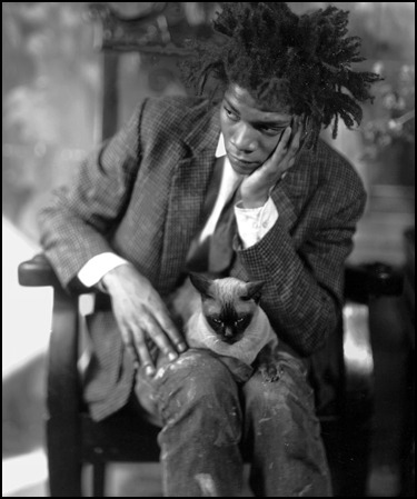 Basquiat via the impossible cool.