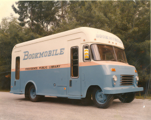 pvddesign:  BOOKMOBILE - 1967 (via Providence Public Library)