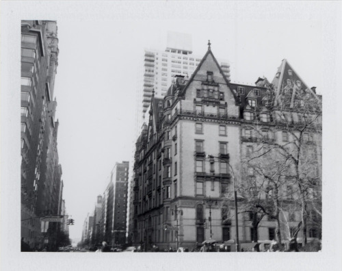 kevin:  fromme-toyou:  Upper West Side, Polaroid Project The Dakota, 72nd & Central Park West (John Lennon's last residence) Today on My Upper West they published 9 Polaroids I shot of the Upper West Side with my vintage Polaroid Land Camera, please click through to read about and see the rest in the series.