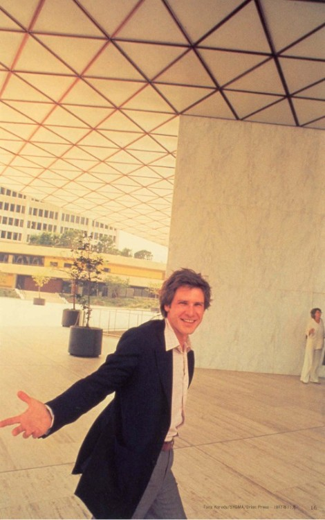 kidmccabe:  Harrison Ford.  that smile!! :)