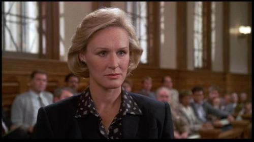 Teddy Barnes (Glenn Close), Jagged Edge Apparently, Glenn Close likes playing lawyers.