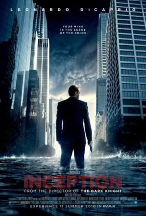 Inception Film my Christopher Nolan Starring: Leonardo DiCaprio, Ken Watanabe, Ellen Page, Marion Cotillard, Joseph Gordon-Levitt, Cillian Murphy Premise: It explains how an idea can change history.  Boy, I'm excited!