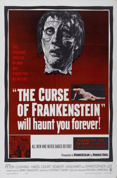 beautyandterrordance:  The Curse Of Frankenstein (1957)