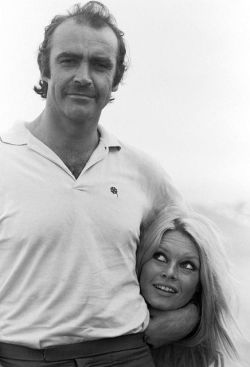 Sean Connery and Brigitte Bardot