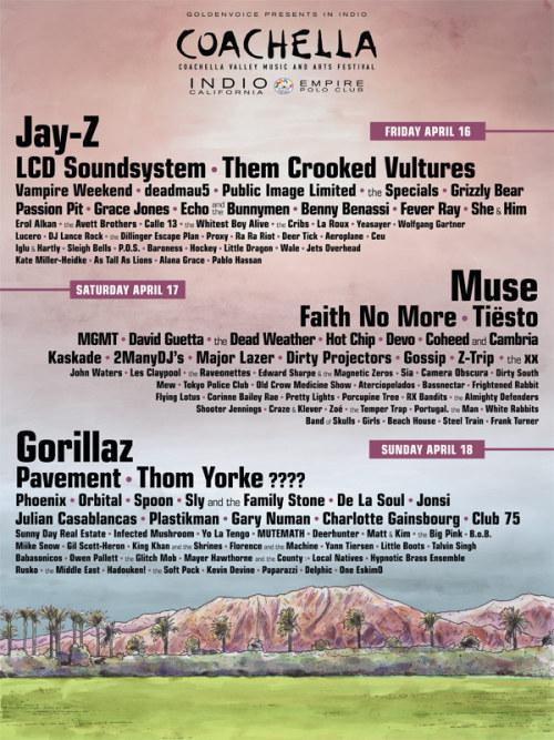 Coachella, 2010.  Who's excited?!