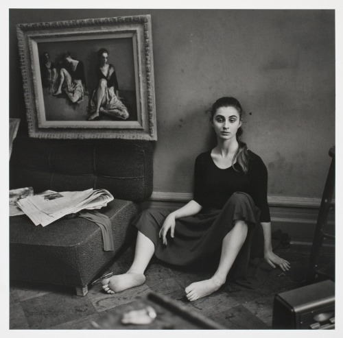 killerbeesting:  moses soyer's studio, nyc, 1957-8 by larry fink  ♥ !