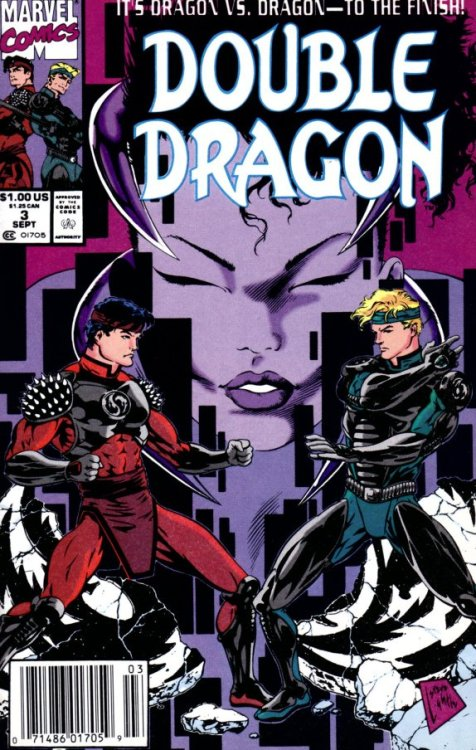 4thletter!: The Double Dragon Comic: World War Green Abobo?