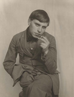 Bohemian (the painter Gottfried Brockmann) 1922, August Sander