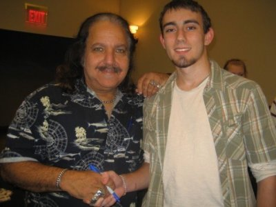 "ericks131:  GPOYW: ""Remember that time I met Ron Jeremy?"" Edition He was actually pretty cool. Picture circa 2007.  My beard was so small back then…  wow"