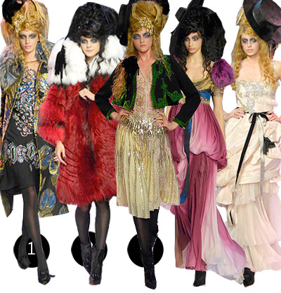 2007 Fall Fashion Trends on Little Touch Of Crazy 1 5  Christian Lacroix Haute Couture Fall 2007
