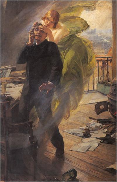Green Muse (1895), Albert Maignan