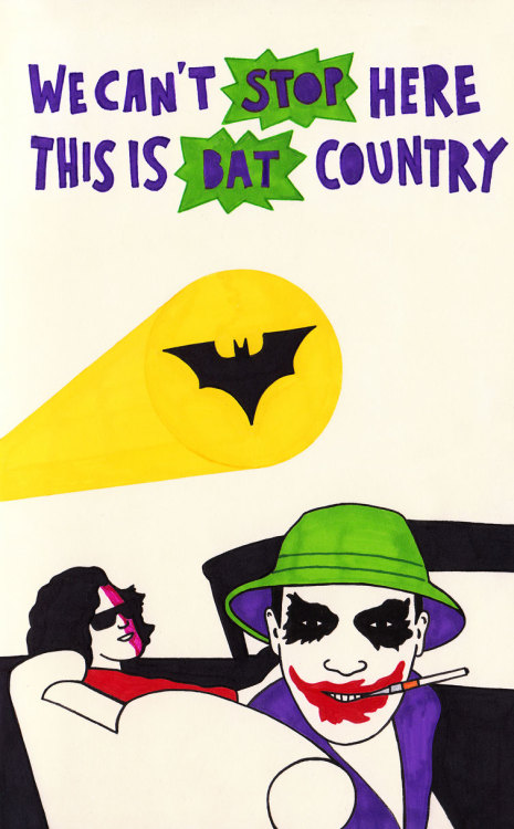 quoteskine:  Fear and Loathing in Gotham City