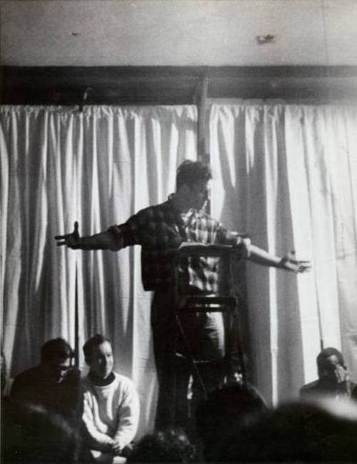 Kerouac reciting poetry