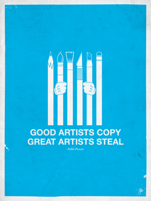Moxy Creative - Great Artists Steal on yay!everyday