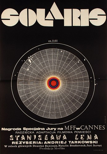 Solaris, Polish Movie Poster poster for the original, i.e. Russian, version of Solaris