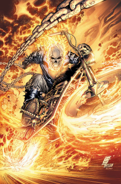 comicbooks:  Ghost Rider by Marc Silvestri, Joe Weems and Blond