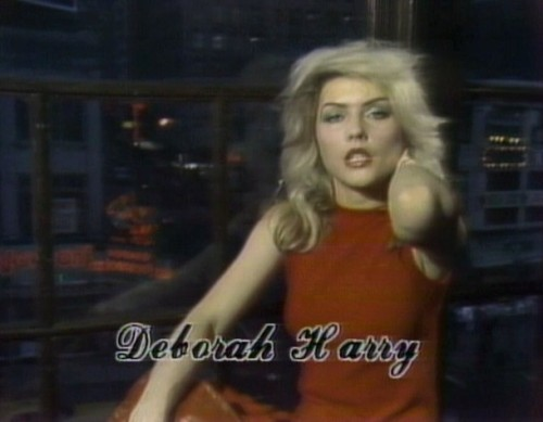 There are 3 things Frau Prau loves at the moment: The 80's Blondie Deborah Harry via houseofselfindulgence | radioactivelingerie