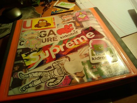 my old binder.