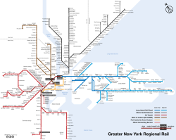 Greater New York. New York has no fewer than four different commuter rail agencies, none of which is willing to share maps.