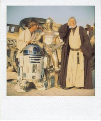 are2:  polaroid  HAPPY STAR WARS DAY!