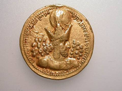 Šābuhr I's new gold coin depicting the Roman Emperor course image