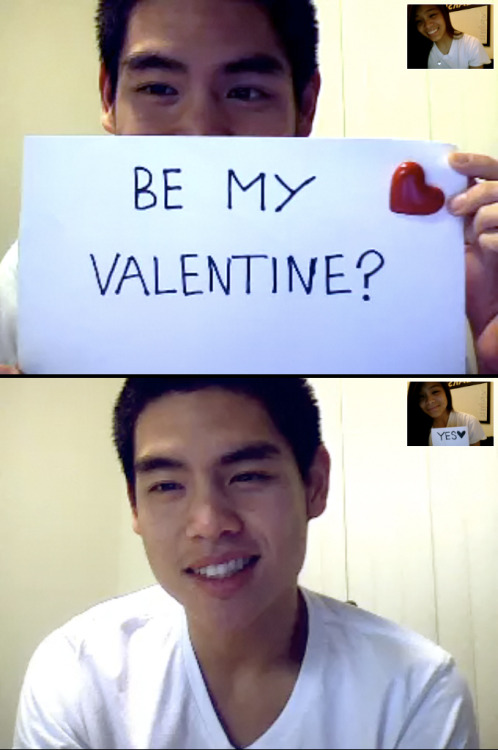 I would love to be your Valentine :) See you in two weeks <3