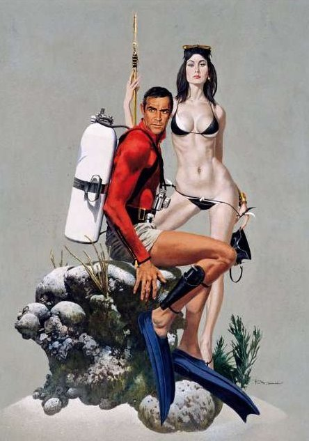 James Bond via retrospace | doppelganger X