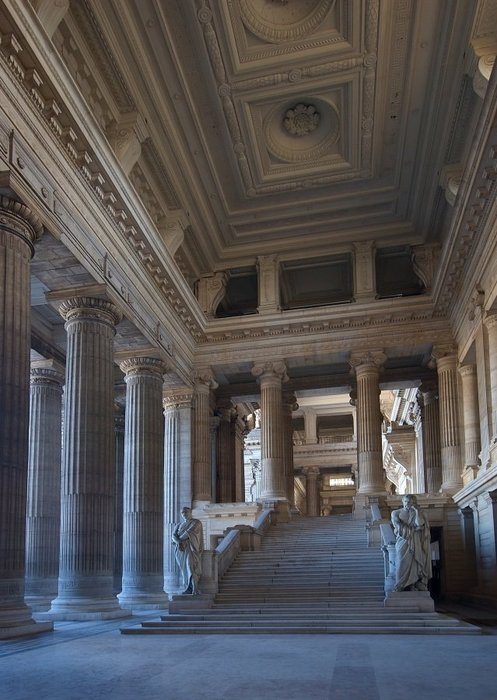 Palais de justice de Bruxelles (Brussels). Photo by Luc Viatour.