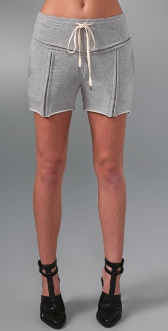 "Terry shorts by Alexander Wang, $225.00 at Shopbop.  Ah, my first Alexander Wang post.  He is one of the harbingers of this ""dirty chic"" trend that has taken the fashion blog world by storm.  These cutoff sweat shorts epitomizes all that is terrible regarding this trend.  Personally, I don't I should be more offended by the aesthetics of them or that they cost 225 bucks."