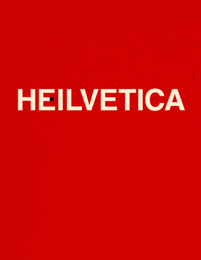jasonpermenter:  Our dear friend Jessie made a Helvetica joke many months ago. And damn these designery hands of mine—they just couldn't let the word sit in my brain any longer. Anyway: Heilvetica, everyone. Enjoy.