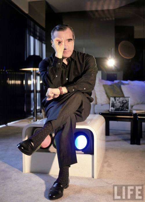 (via martinscorsese) Those socks.  Those shoes.  The man knows how to put the finishing touches on an outfit.