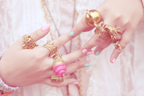 (via fashionfever) I want the tiara one! And the icecream! :D