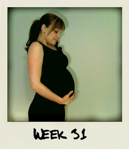 Week 31: Hey buddy, we are reaching the end of week 31. Check out your momma! How beautiful is she?! She truly has that pregnancy glow.  Your momma has been busy nesting while dad has been busy working. We want nothing more than to bring you into a safe and loving home. Your room is almost done and we can't wait for you to enjoy it! Oh hey, those hicups of yours are cute btw.