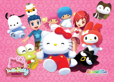 Hello Kitty Online Game Characters  Submitted by julialnewell