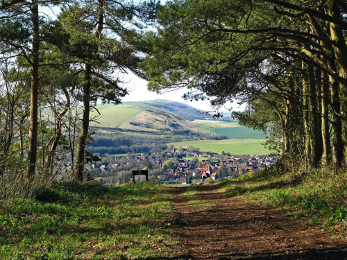 A view of Alfriston, East Sussex (via Green Explorer)