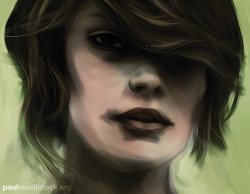 Digital painting, a couple of hours.