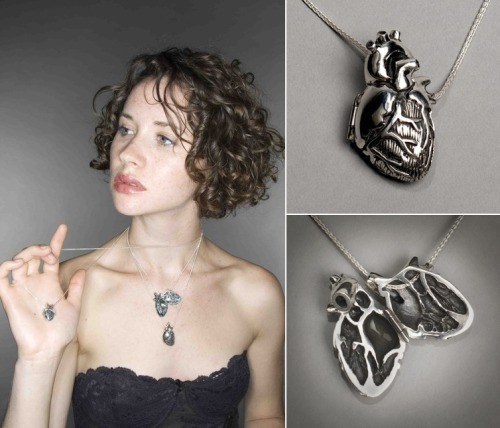 georgecarlin:  aisforari:  anatomical heart locket. i want this.  (via thedailywhat)