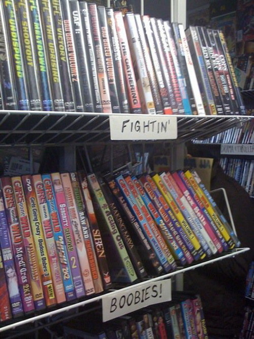 siddman:  florencio:The Only DVD Categories That Matter