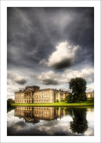 "Lyme Hall was used as the location for ""Pemberley"", the home of Mr. Darcy, in the 1995 BBC adaptation of Jane Austen's novel Pride and Prejudice"