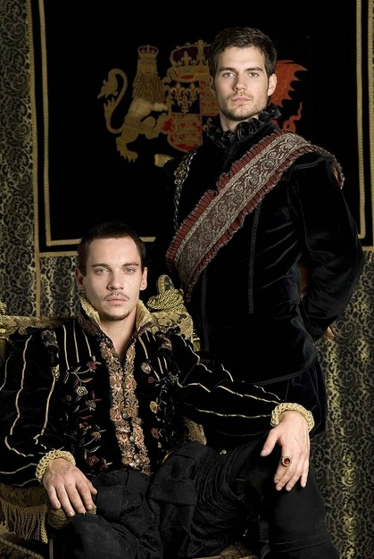 Jonathan Rhys Meyers stars as Henry VIII and Henry Cavill  stars as Charles Brandon