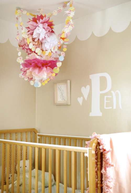 totally digging the scalloped edge along the top wall sweetiepie:  (via youaremyfave)
