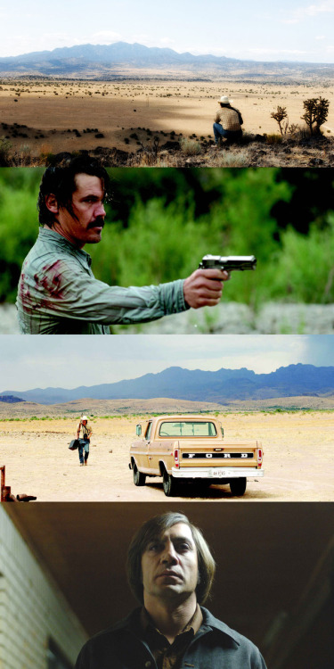 Oscars in Frames! No Country for Old Men, 2007 (dir. Joel and Ethan Coen) [Best Movie, 2008] By springmaidenofme