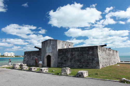 Fort Montagu, Nassau. Five minute walk from my house. Village Road, represent! -dk