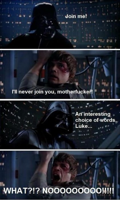 9gag:  Star Wars: Directors Cut