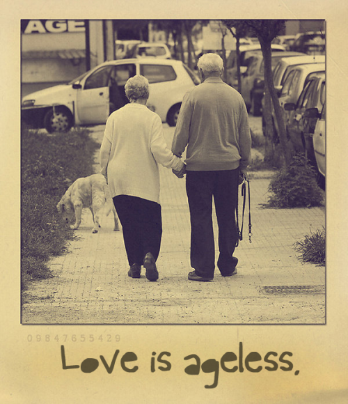 myheartisurs:  altheresequingua:  thestrugglingperson:  Love is ageless.    was moved by this picture.
