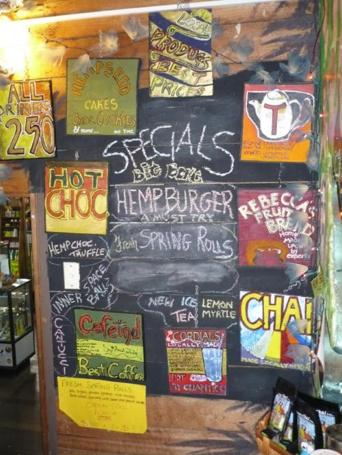 Nimbin Hemp Bar, Australia
