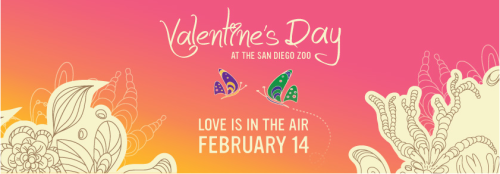 Valentine's Illustration from the San Diego Zoo