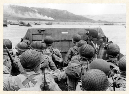 schmult:  Did you know Captain America battled on Omaha Beach with the troops?