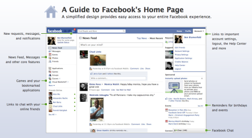 "I appreciate Facebook's effort to communicate the recent redesign updates. Looks a little ""Basecampy"" but visually nice and balanced nonetheless. What do you guys/gals think?"